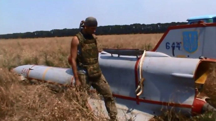 Ukraine's Soviet-era drone captured by Donetsk militia (VIDEO)