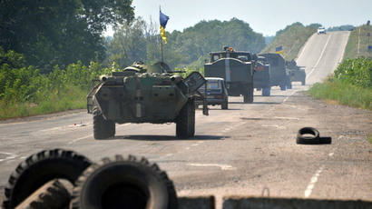 Over 400 Ukrainian troops cross into Russia for refuge