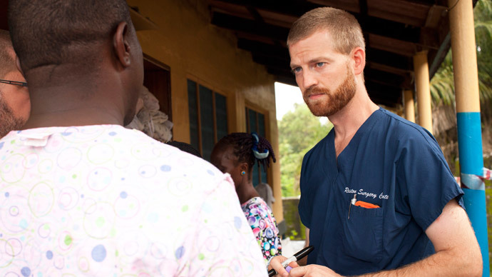 ​Ebola-infected US aid worker arrives in 'special isolation unit' in Atlanta