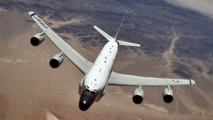 Confirmed: US spy plane fleeing Russian jet invaded Swedish airspace