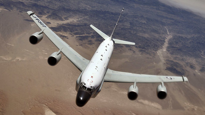 Boeing RC-135 Rivet Joint (U.S. Air Force photo by Master Sgt. Lance Cheung)