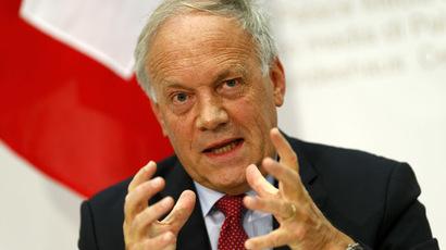 Swiss Economy Minister Johann Schneider-Ammann (Reuters/Ruben Sprich)