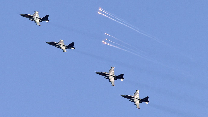 Russian Air Force begins massive scheduled drills