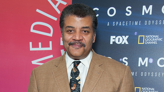 American astrophysicist Neil DeGrasse Tyson (AFP Photo / Valerie Macon)