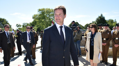 Britain's Deputy Prime Minister Nick Clegg.(AFP Photo /  Leon Neal)