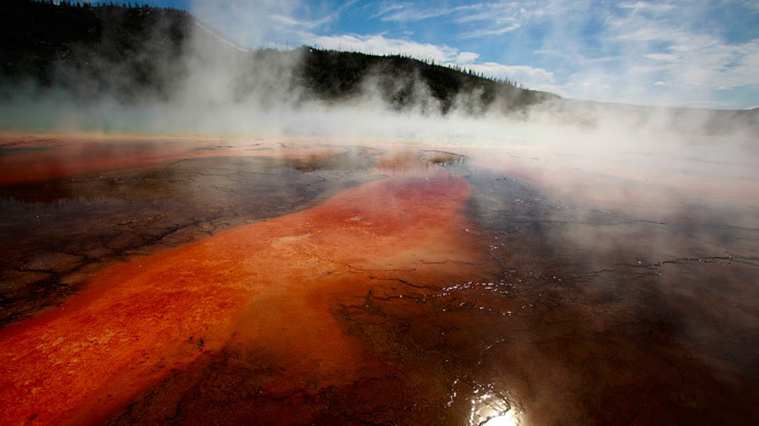 Drone crashes into Yellowstone National Park's largest hot spring
