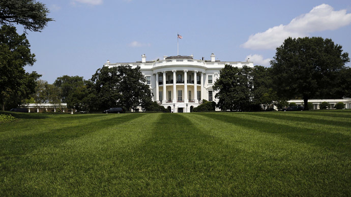 The South Lawn and the White House is pictured in Washington August 7, 2014. (Reuters/Larry Downing)