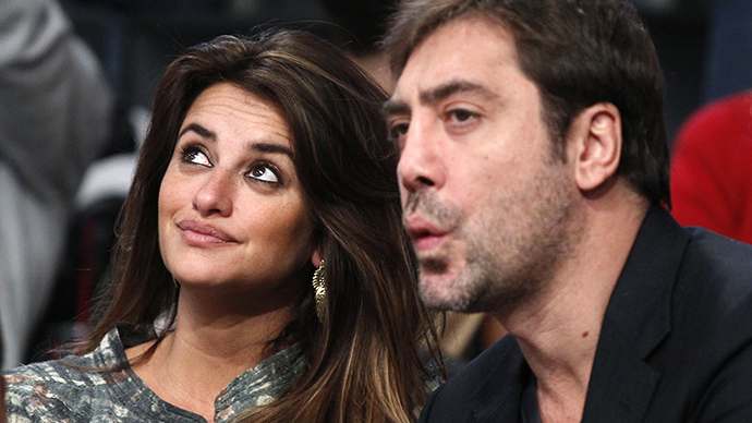 Actors Penelope Cruz and Javier Bardem (Reuters / Danny Moloshok)