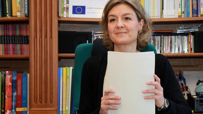Isabel Garcia Tejerina (image from www.magrama.gob.es)