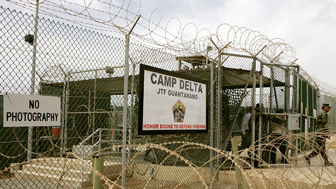 The US Naval Station in Guantanamo Bay, Cuba. (AFP Photo / Mark Wilson)