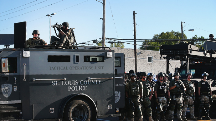 Highway police take control over all police operations in Ferguson