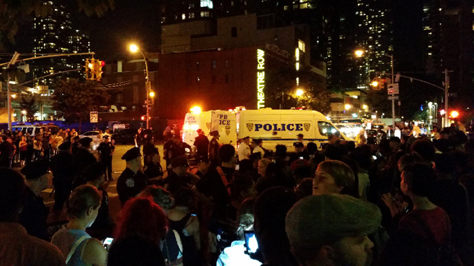 NYPD threatens mass arrests at Ferguson solidarity rally