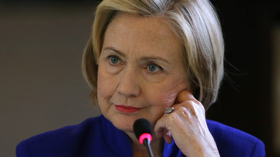 Former Secretary of State Hillary Clinton (Justin Sullivan / Getty Images / AFP)