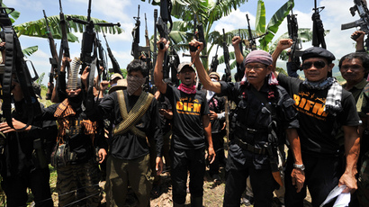 Bangsamoro Islamic Freedom Fighters (AFP Photo / Ted Aljibe)