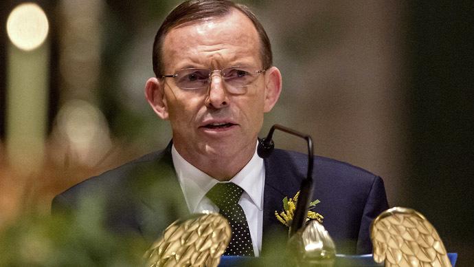 Australian Prime Minister Tony Abbott (Reuters/Mark Dadswell)