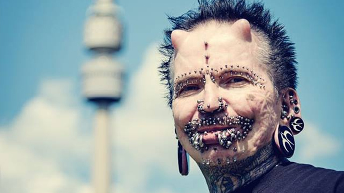 World's most pierced man turned away from Dubai over 'black magic' concerns