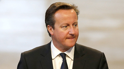 Britain's Prime Minister David Cameron (AFP Photo / Russell Cheyne)