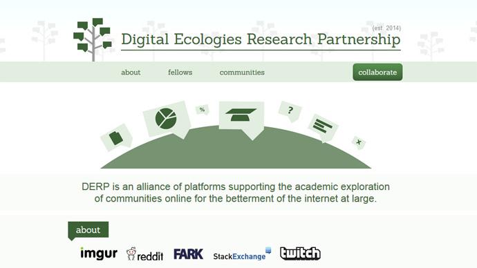 Screenshot from http://derp.institute/
