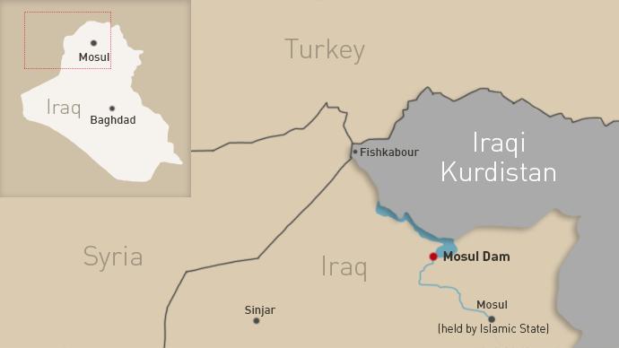 'World's most dangerous': Iraq's retaken Mosul Dam could cause 500,000 deaths in days