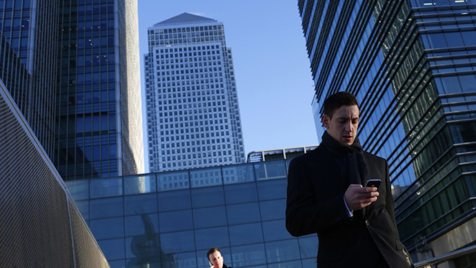 The Canary Wharf business district in London. (Reuters / Eddie Keogh)