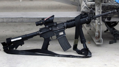 AR-15 rifle (Reuters/Bruno Domingos)