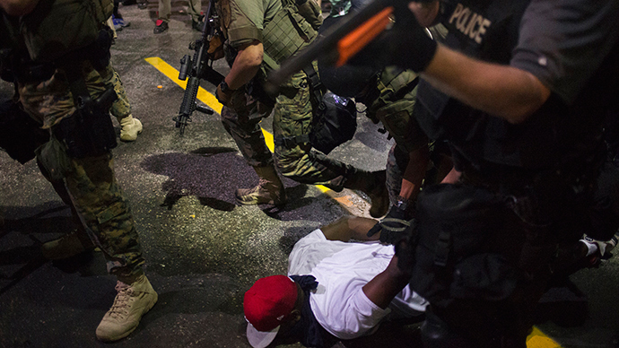 Ferguson, Missouri August 20, 2014 (Reuters / Adrees Latif)