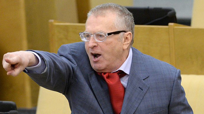 Leader of the Liberal Democratic Party Vladimir Zhirinovsky (RIA Novosti / Vladimir Fedorenko)