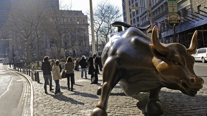 The Wall Street Bull, New York (AFP Photo / Emmanuel Dunand)