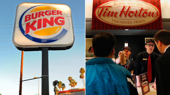 Burger King in merger talks with Tim Hortons donut chain
