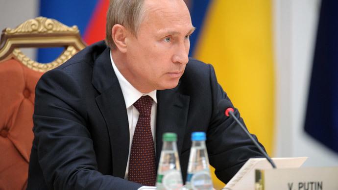 Russia's President Vladimir Putin.(RIA Novosti / Alexey Druzhinin)