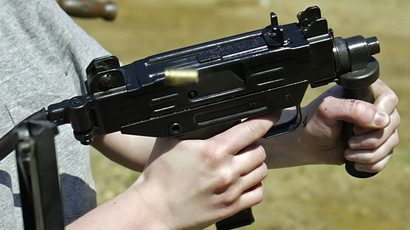 Uzi submachine gun (Reuters/Rick Wilking RTW)