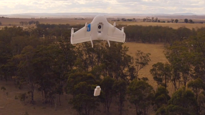 Project Wing Google Tests Drone Deliveries In Outback