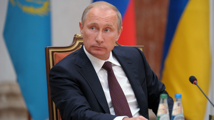 Putin: Impossible to say when political crisis in Ukraine will end
