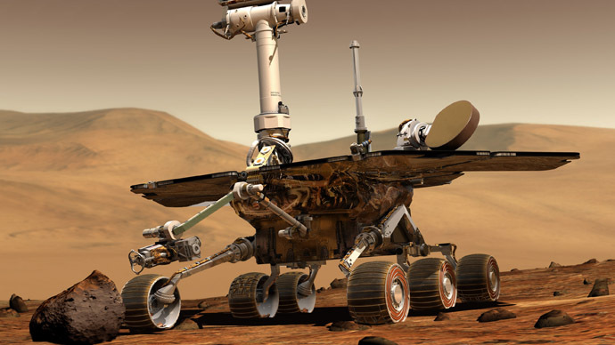 On cosmic budget: NASA's Opportunity to roll around Mars for 2 more years