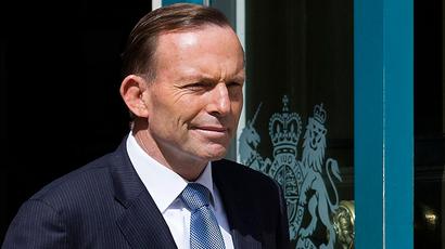 Australian Prime Minister Tony Abbott (AFP Photo / Justin Tallis)
