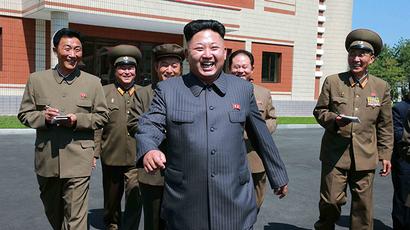North Korean leader Kim Jong Un (Reuters / Korean Central News Agency)