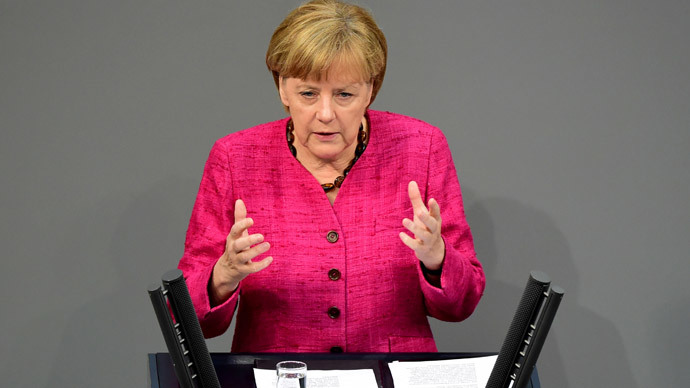 German Chancellor Angela Merkel.(AFP Photo / John Macdougall )