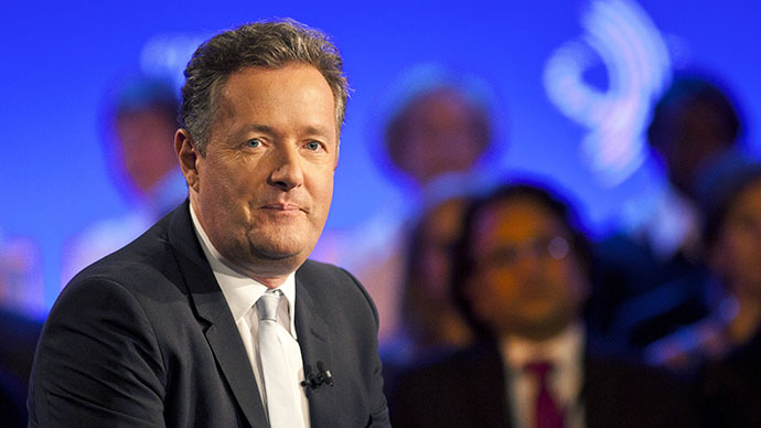 Piers Morgan (AFP Photo / Ramin Talaie)