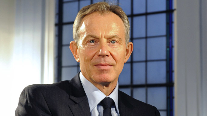 Jaw dropping award: GQ names Tony Blair 'philanthropist of the year'