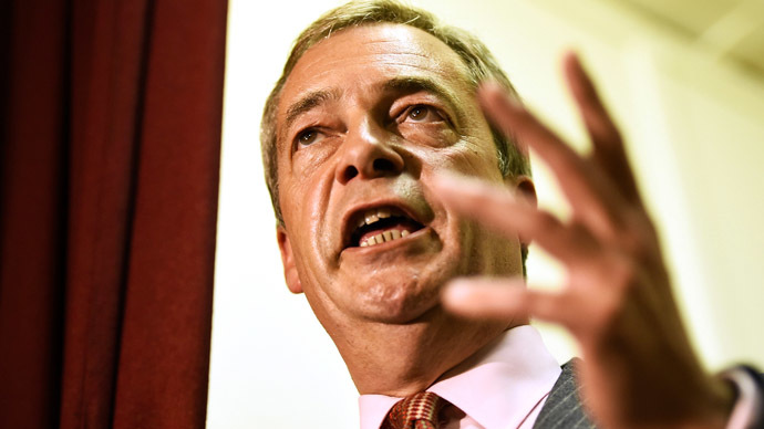 """UKIP's Farage tells Fox News host Britain must """"stand up"""" for its values against ISIS"""