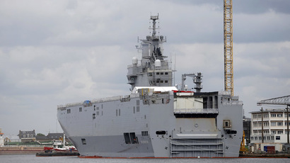 France to hand over first Mistral helicopter carrier on Nov 14 – Russia