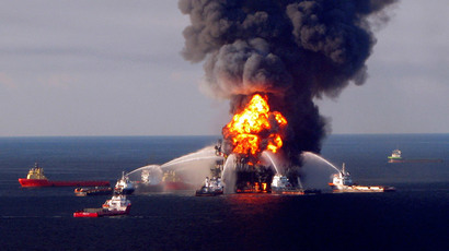 Blast on Gulf of Mexico platform leaves 1 dead, 3 injured