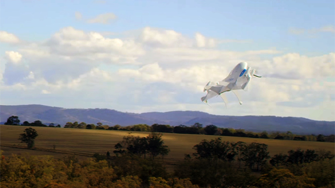 Highway in the sky: NASA building robot-controlled drone traffic network