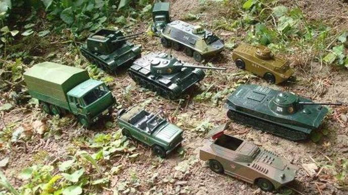 'Most convincing evidence': Russian embassy trolls NATO with toy tanks