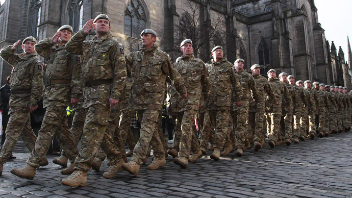 Britain warned austerity policies weakening army rt uk for Tattoos in the british army