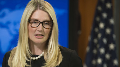 US State Department Deputy Spokesperson Marie Harf.(AFP Photo / Saul Loeb)