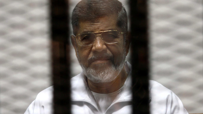 Egypt's deposed Morsi charged with leaking state secrets to Qatar