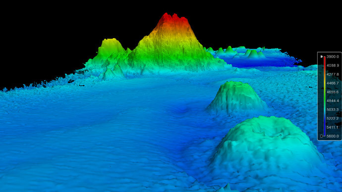 Monster Mountain Discovered Lurking Depths Pacific Ocean News