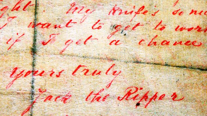 Dna Study Unmasks Jack The Ripper Rt Uk