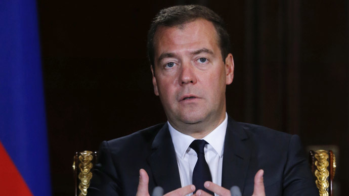 If new EU sanctions hit energy sector, Russia may close airspace - Medvedev